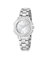Just Cavalli Just Decor Silver Tone Stainless Steel Women's Watch