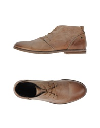 Diesel Lace Up Shoes Brown