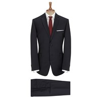 Daniel Hechter Semi Plain Suit Charcoal