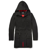 Christopher Raeburn Hooded Cotton Parka Black