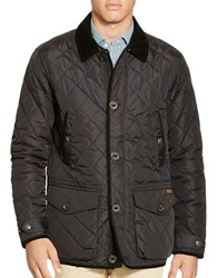 Polo Ralph Lauren Diamond Quilted Jacket Black