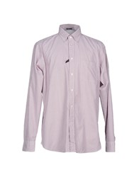 Zegna Sport Shirts Brick Red