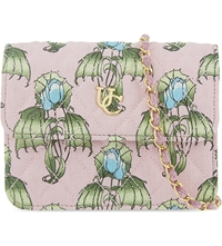 Undercover Floral Quilted Cross Body Bag Pink