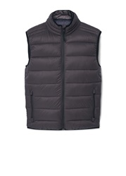 Mango Gorri Paneled Water Repellent Quilted Gilet Medium Brown