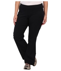 Columbia Plus Size Back Beauty Boot Cut Pant Black Women's Clothing