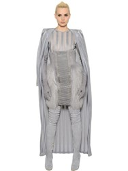 Balmain Sheer Stripes Knit Long Cardigan