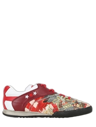 Pantofola D'oro Japan World Cup Leather Sneakers White Red