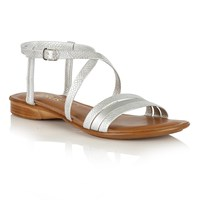 Lotus Quaser Open Toe Sandals Silver