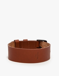 Tid Leather Strap In Tan