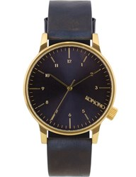 Komono Regal Blue Winston Watch