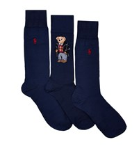Polo Ralph Lauren Embroidered Socks Gift Set Male