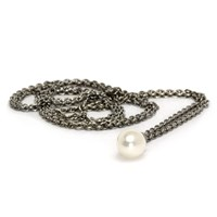 Trollbeads Silver Fantasy Pearl Necklace