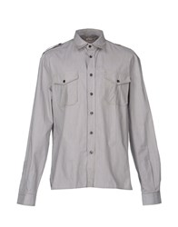 Galliano Shirts Shirts Men Military Green