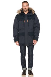 Fjall Raven Polar Guide Parka With Faux Fur Lining Black