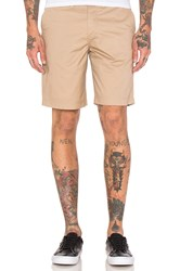 Fred Perry Classic Twill Shorts Tan