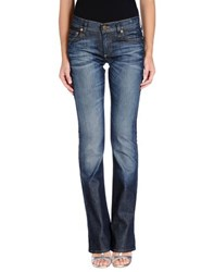 True Religion Denim Denim Trousers Women Blue