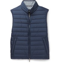 Hugo Boss Davio Quilted Shell Down Gilet Blue