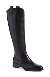 Women's Louise Et Cie 'Zada' Knee High Riding Boot Black Leather