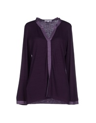 Shirt C Zero Sweaters Dark Purple