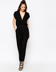Motel Orla Jumpsuit Black