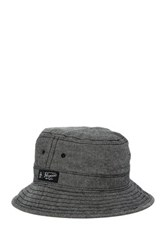 Original Penguin Evans Chambray Bucket Hat Black