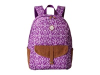 Roxy Carribean Backpack Grape Juice Mirage Marking Backpack Bags Purple