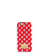 Michael Kors Ikat Phone Case For Iphone 6 Dark Clementine