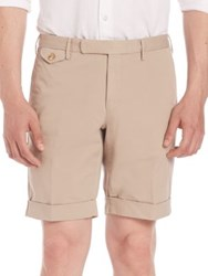 Incotex Slim Batavia Shorts Red Green Blue Beige