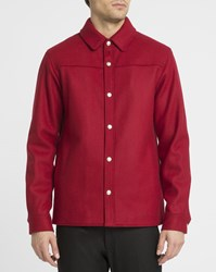 A.P.C. Red Paolo Wool Jacket