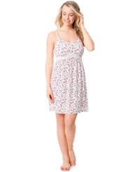 Motherhood Maternity Bump In The Night Tm Maternity Floral Nursing Nightgown