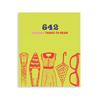 Chronicle Books 642 Fashion Things To Draw Book