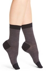 Pantherella Women's Herringbone Wool Blend Socks Navy