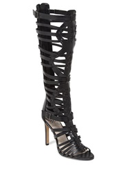 Vince Camuto Kase High Heel Gladiator Sandals Black