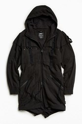 Publish Twill Trench Coat Black
