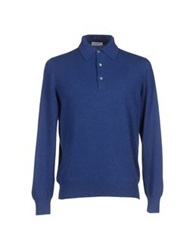 Cains Moore Sweaters Blue