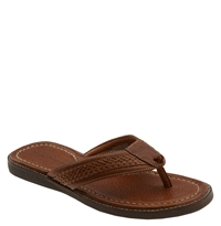 Tommy Bahama 'Anchors Away' Flip Flop Brown