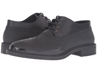 Vivienne Westwood Lace Up Plastic Brogue Black Black