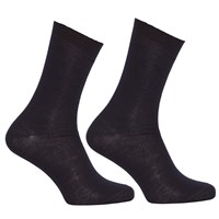 John Lewis Merino Wool Mix Ankle Socks Pack Of 2 Navy