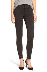 Madewell Women's 'High Riser' Sateen Skinny Jeans True Black