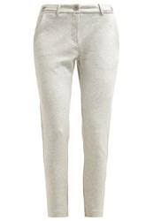 Marc O'polo Trousers Cobble Melange Taupe