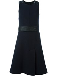 Cedric Charlier Sleeveless Dress Blue