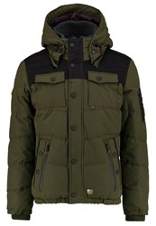 Khujo Burd Winter Jacket Olive