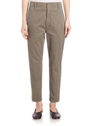 Vince Carrot Chino Pants Black Olive