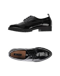 Cuple Lace Up Shoes Black