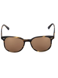 Oliver Peoples Tortoise Shell Sunglasses Brown