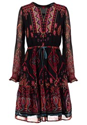 Derhy Sapajou Summer Dress Rouge Red