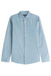Michael Kors Collection Denim Shirt Blue