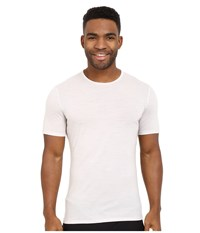 Icebreaker Anatomica Short Sleeve Crewe Ivory White Men's T Shirt Bone