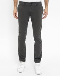 Diesel Charcoal Chi Shaped Slim Fit Chinos Grey