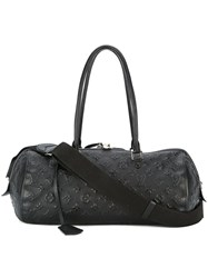 Louis Vuitton Vintage Monogram Shoulder Bag Black